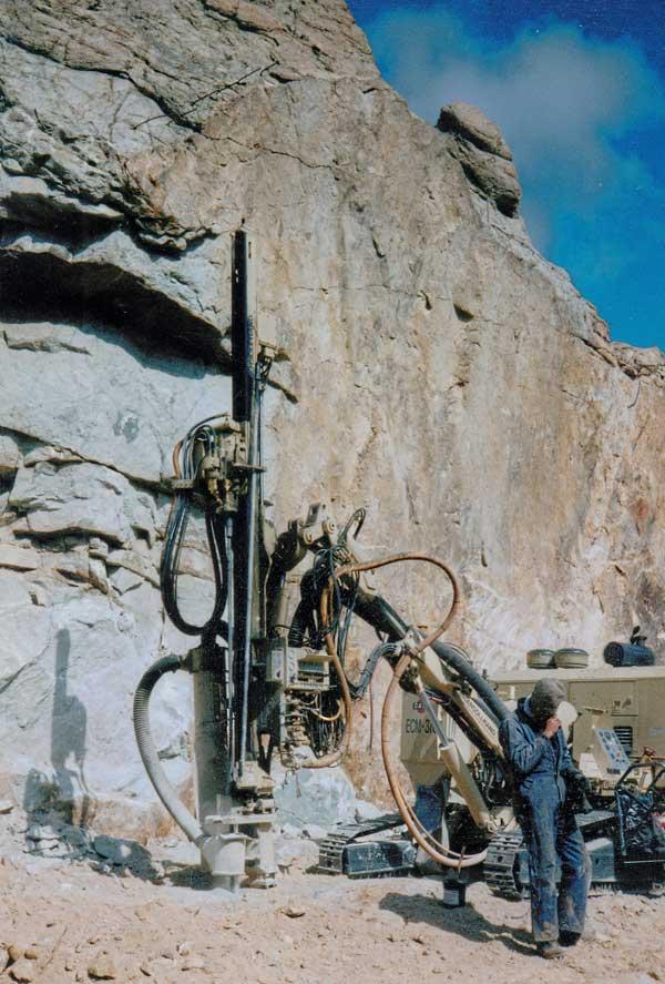 Rock Blasting Service : Funitel excavation hard rock blasting squaw valley ca
